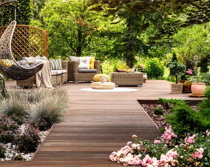 Wohnen mit Holz | Holzterrasse | Holz Pirner Pommelsbrunn