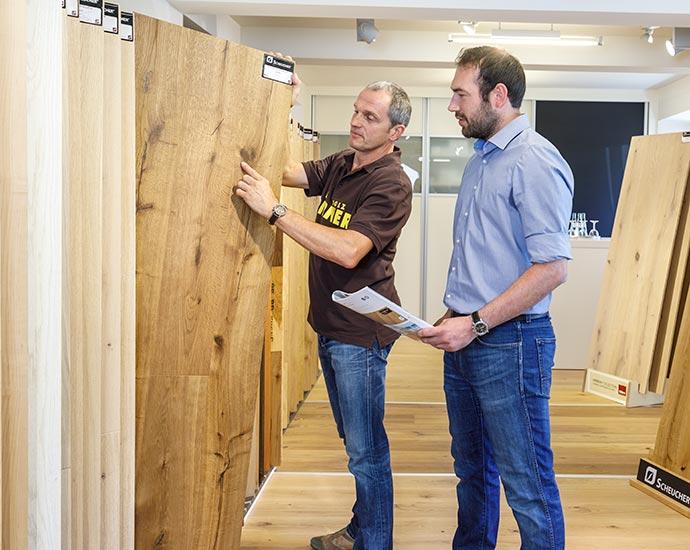 Inspiration in der Ausstellung | Holz Pirner GmbH | Pommelsbrunn