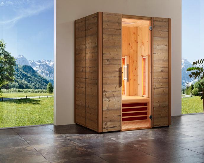 Sauna | Infrarotkabine TrioSol von Infraworld | Holz Pirner Pommelsbrunn