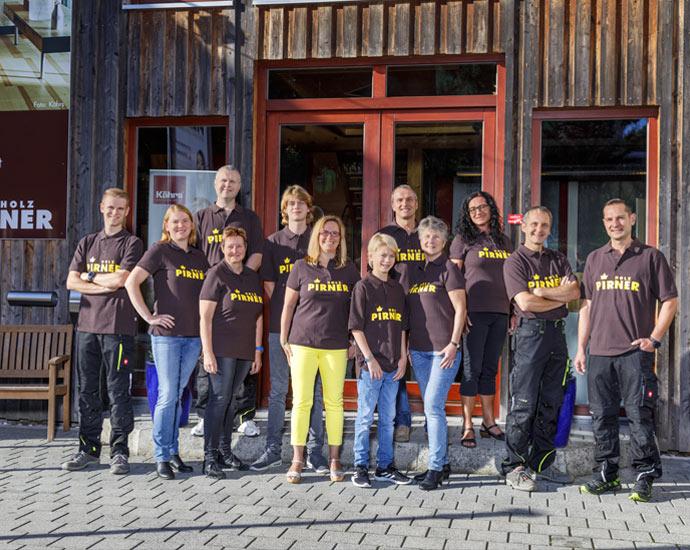 Das Team, Kontakt | Holz Pirner GmbH | Pommelsbrunn