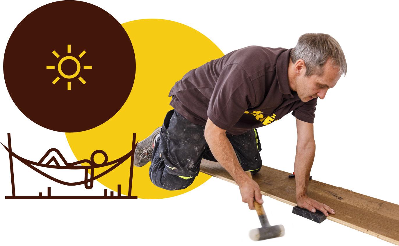 Holz Pirner in Pommelsbrunn verlegt Ihren Parkettboden professionell.