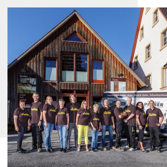 Das Team von Holz Pirner | Geschichte | Holz Pirner GmbH, Pommelsbrunn