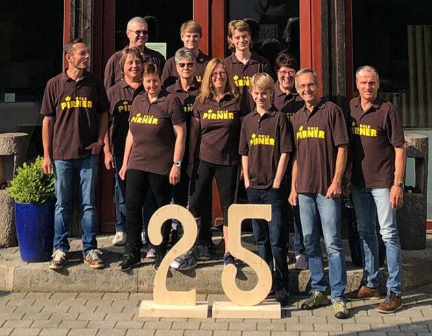 Teamfoto von Holz Pirner – Karriere